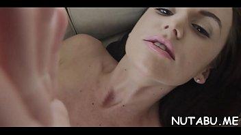 skillful nubile works on her indecent cleft using.
