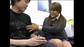 Japanese Depressed Brother Is Encouraged by Sister'_s Handjob