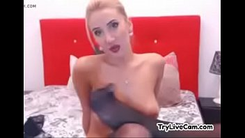 teenie looks lovely on webcam at.