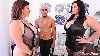 king noire and angelina castro predominate sara jay.