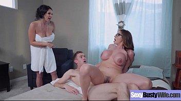Hardcore Intercorse With Big Juggs Hot Sexy Wife (Ariella Ferrera &amp_ Missy Martinez) vid-07