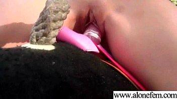 Amateur Girls Masturbating With Toys clip-17