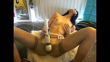 Hot big dildo masturbation - FREE REGISTER www.mybabecam.tk