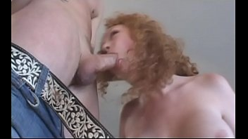 Redhead sucks and blows hardcore and deep