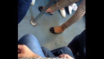 lovely bubs en el tren