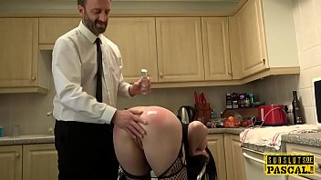 Real UK submissive roughfucked anally