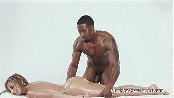 massagists enormous ebony guy rod in.