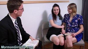 Jizzed mormon teens jerk