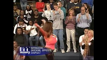 Funny Couples Big Boobs Couple MAURY
