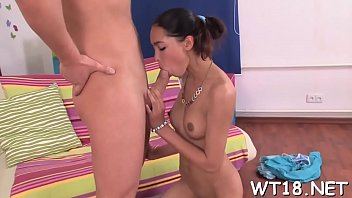 Pretty hot girl with skinny body gets banged doggystyle