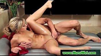 Nuru Slippery Massage And Sloppy Handjob 04