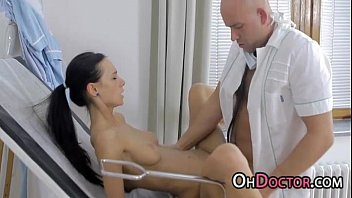 polyclinic nurse pounding tempting sweetie