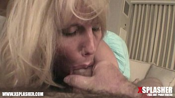 cougar with enormous boobs blowing on a ample schlong