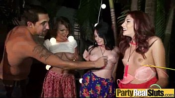 Group Sex Tape With Party Slut Wild Girls vid-03