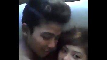 Burmese couple having fun