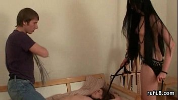 First Bondage Fuck with teen