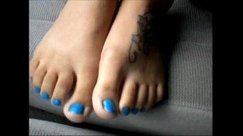 4087153 dark-hued damsel blue toenails