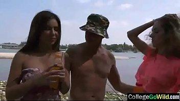 (ally &amp_ monique) Sluty College Girls In Hard Group Sex Tape movie-09