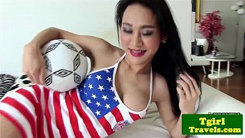 soccer frolicking transgender princess emma point of look blowage