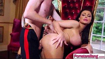 Pornstar Girl (aletta madison) Love To Suck And Fuck Big Mamba Cock clip-13