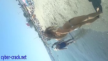 turkish beach  youthful lady spycam.