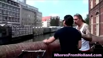 Amateur guy searches for hookers in Amsterdam