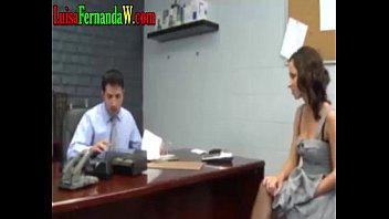 secretaria hermosa tetona y sabroso booty me la.