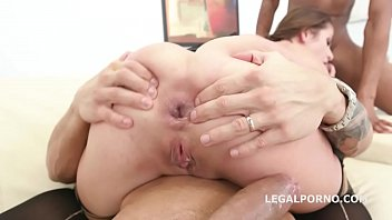 Busty Prolapsing Milf Cathy Heaven Balls Deep DAP   Deepthroat to Tunnel Vision!