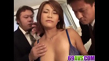 rui horie ravished in naughty gang-poke act -.