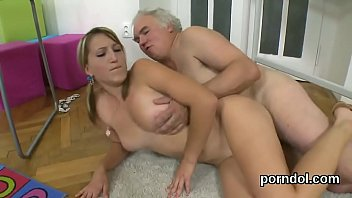 voluptuous college girl is tempted and railed by.