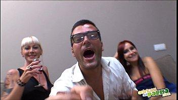 La fiesta sexual de Leyla Black - Full scene Threesome