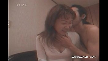 japanese seductress gets torrid tits gobbled.