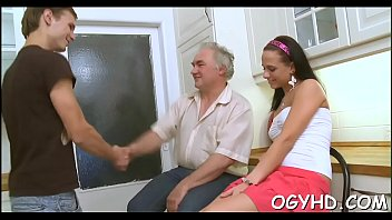 insatiable older stud taunts youthfull nymph
