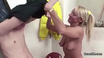 Hot MILF Teacher Seduce Young Boy to Fuck after Lesson
