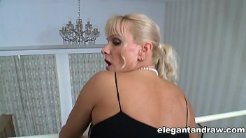 Naughty Blonde Milf fucked by Big Black Cock
