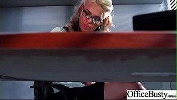 Big Melon Tits Girl (Phoenix Marie) Love hardcore Sex In Office video-22