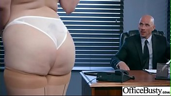 Office Sex With Sluty Big Juggs Teen Girl (Lauren Phillips) vid-17