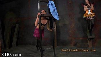 futile mega-slut is toying her sheer.