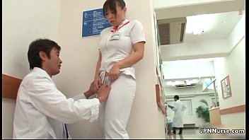 insane japanese nurse gets tempted in.