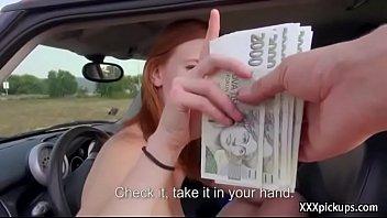 Amateur Eeropean Teen Slut Suck Dick For Cash In Public 23