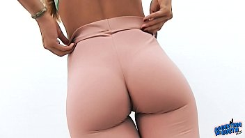 thin nubile has ideal plump butt phat puffies.