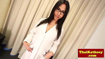 japanese t-model doc with glasses unwraps