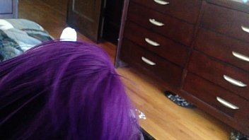 muddy toppy from a purple head