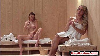 Sexy Big tit lesbian Teen Hardcore Sex In Office 16