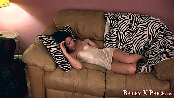Bailey Paige - Touching myself on the couch