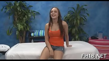 Slender teen beauty gets mouth and pussy fucked well