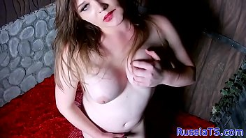 wondrous trans honey plays with her.