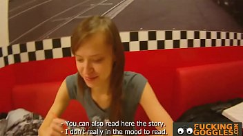 russian teenager gives a deep mouth