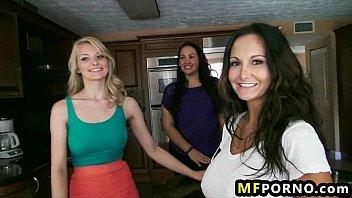 Hot MILFs 3some Alli Rae, Ava Addams 3
