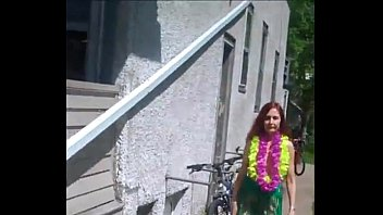 public flashing redhot red-haired display compilation